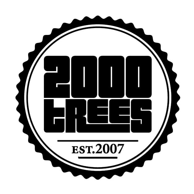 2000 Trees Logo Black
