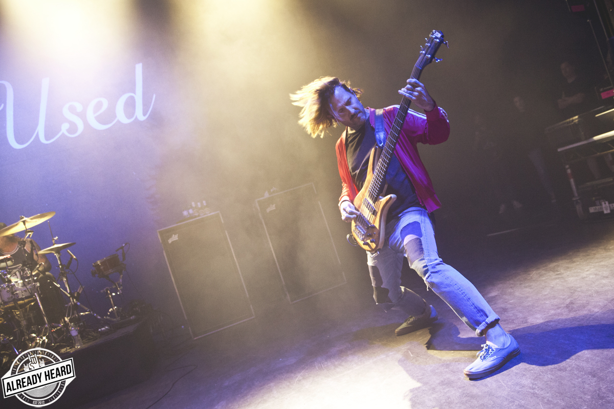The Used - o2 Shepherds Bush Empire, London - 31/08/2018