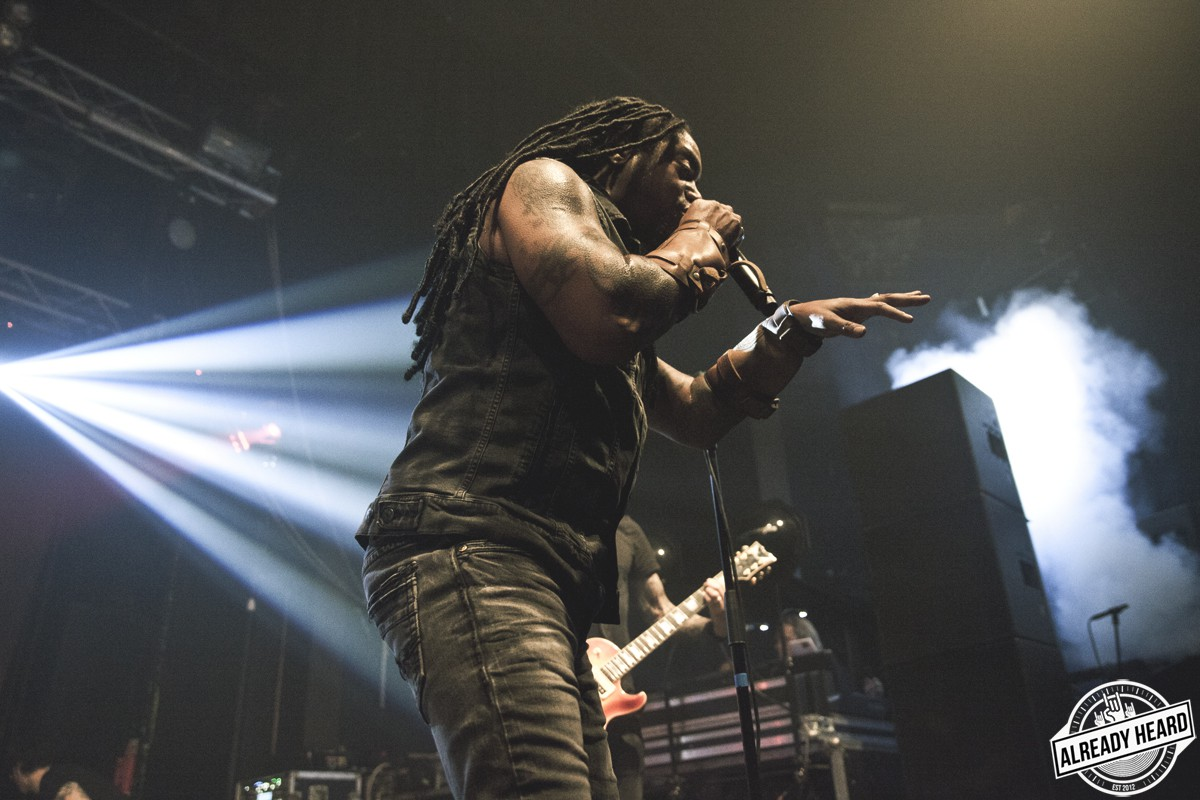 Sevendust - Electric Brixton, London - 2/12/2018